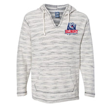 Load image into Gallery viewer, NCAA Belmont University Bruins PPBEL01 Baja French Terry V-Neck Hooded Pullover