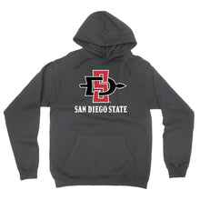 Load image into Gallery viewer, Official NCAA SDSU Aztecs - PPSDS04 Mens / Womens Boyfriend Hoodie