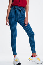 Load image into Gallery viewer, Skinny Jeans With Pinstripe