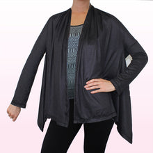 Load image into Gallery viewer, Onyx Wrap Cardigan