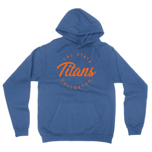 Official NCAA CSUF Titans - RYLCSUF04 Mens / Womens Boyfriend Hoodie