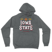 Load image into Gallery viewer, Official NCAA Iowa State Cyclones - RYLISU12 Mens / Womens Boyfriend Hoodie
