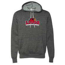Load image into Gallery viewer, Official NCAA Lamar University Cardinals PPLAMA01 Unisex Hooded Pullover Sweatshirt