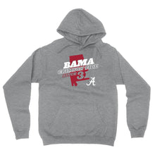 Load image into Gallery viewer, Official NCAA Alabama Roll Tide - State Pride Mens / Womens Boyfriend Hoodie