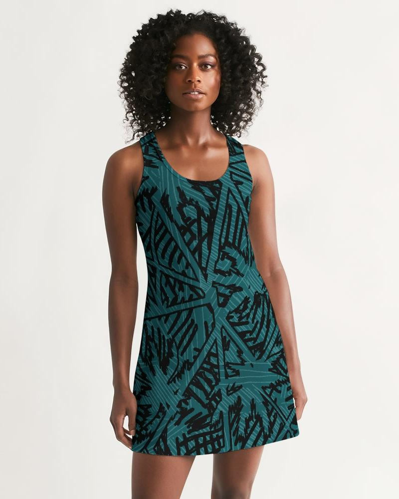 Women's Palm Caye II Casual Racerback Dress