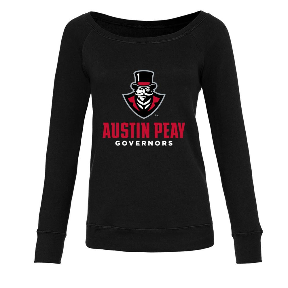 Official NCAA Austin Peay Governors PPAPGV02 Women's Fleece Crew Sweatshirt