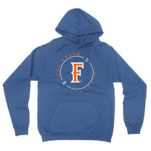 "Load image into Gallery viewer, Venley Official NCAA Cal State Fullerton ""1957"" Men's / Women's Boyfriend Hoodie RYLCSUF11"