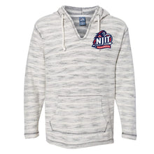 Load image into Gallery viewer, NCAA New Jersey Institute of Technology Highlanders PPNJIT19 Baja French Terry V-Neck Hooded Pullover