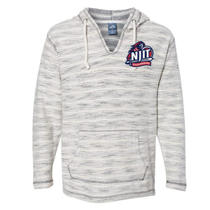 NCAA New Jersey Institute of Technology Highlanders PPNJIT19 Baja French Terry V-Neck Hooded Pullover