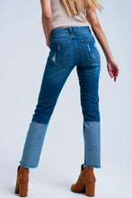 Load image into Gallery viewer, Worn Straight Jeans