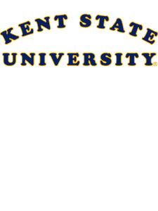 Official NCAA Kent State University Golden Flashes - RYLKST01 Mens / Womens Boyfriend Hoodie