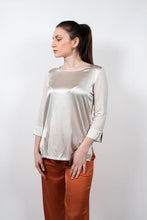 Load image into Gallery viewer, Blusa Girocollo Seta #2031511