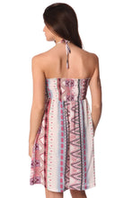 Load image into Gallery viewer, Bandeau Dress With Geo-Tribal Print