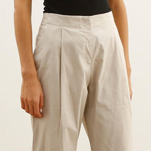 Load image into Gallery viewer, High Waisted Black Faux Leather Pants, Elastic Karate Fit Pants, Black.