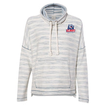 Load image into Gallery viewer, NCAA Belmont University Bruins PPBEL01 Women's Baja French Terry Cowl Neck Pullover