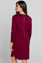 Load image into Gallery viewer, Burgundy Sack Dress by Conquista