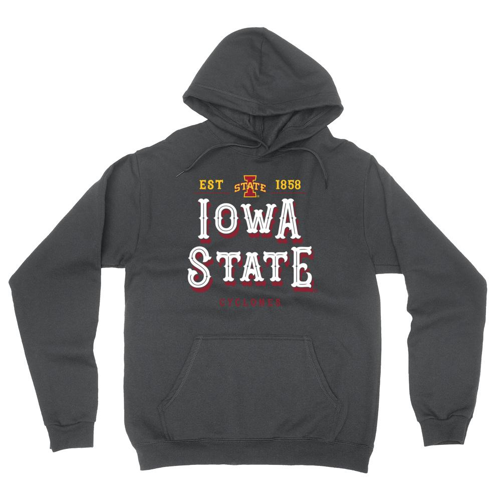 Official NCAA Iowa State Cyclones - RYLISU12 Mens / Womens Boyfriend Hoodie