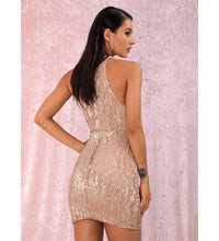 Load image into Gallery viewer, Amora Nude Party Dress