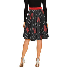 Load image into Gallery viewer, Women's Wakerlook Pleated Midi Skirt