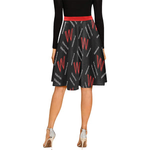 Women's Wakerlook Pleated Midi Skirt
