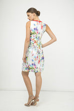 Load image into Gallery viewer, Pleat Detail Sleeveless Print Dress