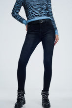 Load image into Gallery viewer, Supersoft Skinny Jeans in Black