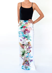 Louise Tropical Long Skirt
