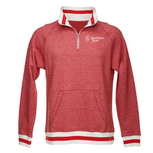 Load image into Gallery viewer, Official NCAA Stanislaus Warriors PPSTAN27 Peppered Fleece Quarter-Zip Sweatshirt