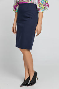 Dark Blue Pencil Skirt