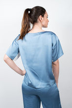 Load image into Gallery viewer, Blusa Bicolor 1/2 Man #2011270