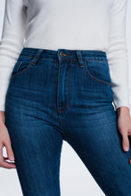 Load image into Gallery viewer, High Waisted Super Skinny Jeans in Blue
