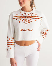 Load image into Gallery viewer, Fashion Women's Wakerlook Cropped Sweatshirt