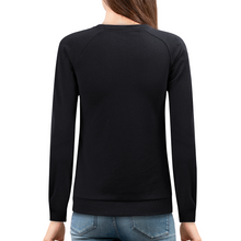 Load image into Gallery viewer, Women's Cotton Club Surf Chic Crewneck Fitted Sweatshirt