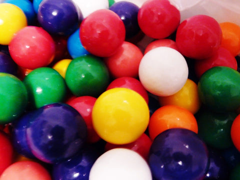 Gumballs/ candy /bouncy ball