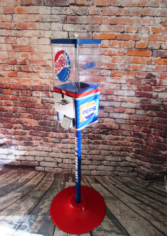 Pepsi gumball machine candy machine vintage coin operated vending machine  machine Pepsi cola home decor man cave decor