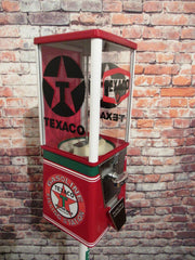 Texaco gas vintage candy machine nut gumball dispenser man cave novelty gift bar accessories office decor