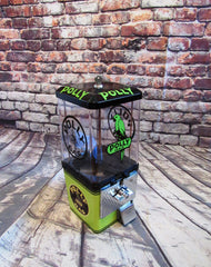 Polly gas vintage gumball candy machine Polly gas old gas pumps, porcelain signs, petro collectibles vintage candy dispenser game room gift