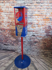 Customize your own Oak vintage gumball machine candy/ nuts machine any theme