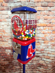Boston Red Sox vintage gumball machine