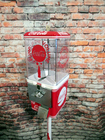 Coca cola Coke memorabilia M&m dispenser coke fans gift man cave accessories novelty Christmas gift bar decor