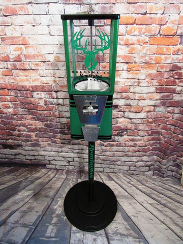 Remington America's oldest gun maker themed gumball machine with metal stand man cave gift unique Christmas gift game room