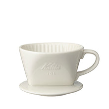 Load image into Gallery viewer, Kalita 101 Ceramic Cone (White)