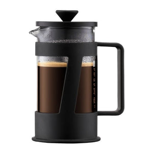 CREMA Coffee maker, 3 cup, 0.35 l, 12 oz BLACK
