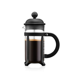 CAFFETTIERA Coffee maker, 3 cup, 0.35 l, 12 oz BLACK