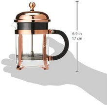Load image into Gallery viewer, Chamboard Coffee Maker, 4 Cup, 0.5L, Copper