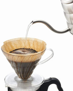 V60 Clear Coffee Dripper, 02
