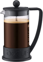 Load image into Gallery viewer, Brazil French Press Coffee Maker, 3cup, 0.35L, 12oz