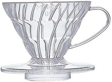 Load image into Gallery viewer, V60 Clear Coffee Dripper, 01
