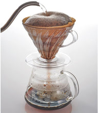 Load image into Gallery viewer, V60 Clear Coffee Dripper, 02