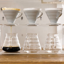 Load image into Gallery viewer, V60 Plastic Coffee Dripper WHITE, 01